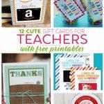 Teacher Gift Card Ideas & Gift Card Holder Printables   Fabulessly | Teacher Appreciation Gift Card Holder Printable