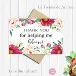 Teacher Thanks Printable Digital Download Greeting Card | Etsy | Teachers Day Greeting Cards Printable