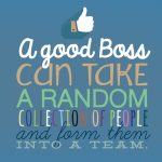 Teamwork   Boss Day Card (Free) | Greetings Island | Free Printable Funny Boss Day Cards