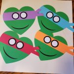 Teenage Mutant Ninja Turtles   Kids Valentine's Day Cards   Heart | Teenage Mutant Ninja Turtles Printable Valentines Day Cards