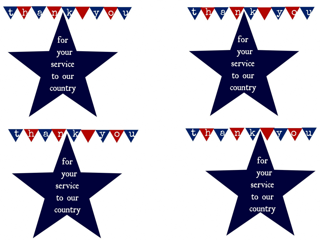 Thank A Hero And Printable | Military | Pinterest | Veterans Day | Military Thank You Cards Printable