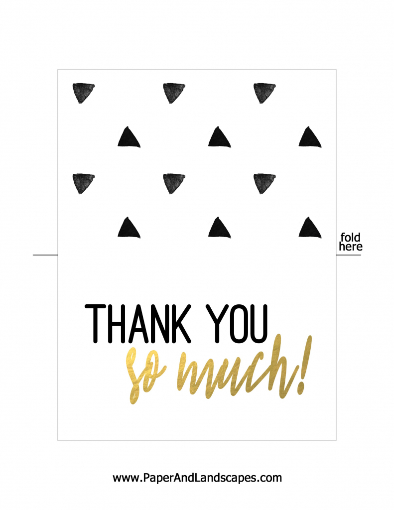 Thank You Cards To Print For Free - Kleo.bergdorfbib.co | Free Printable Custom Thank You Cards