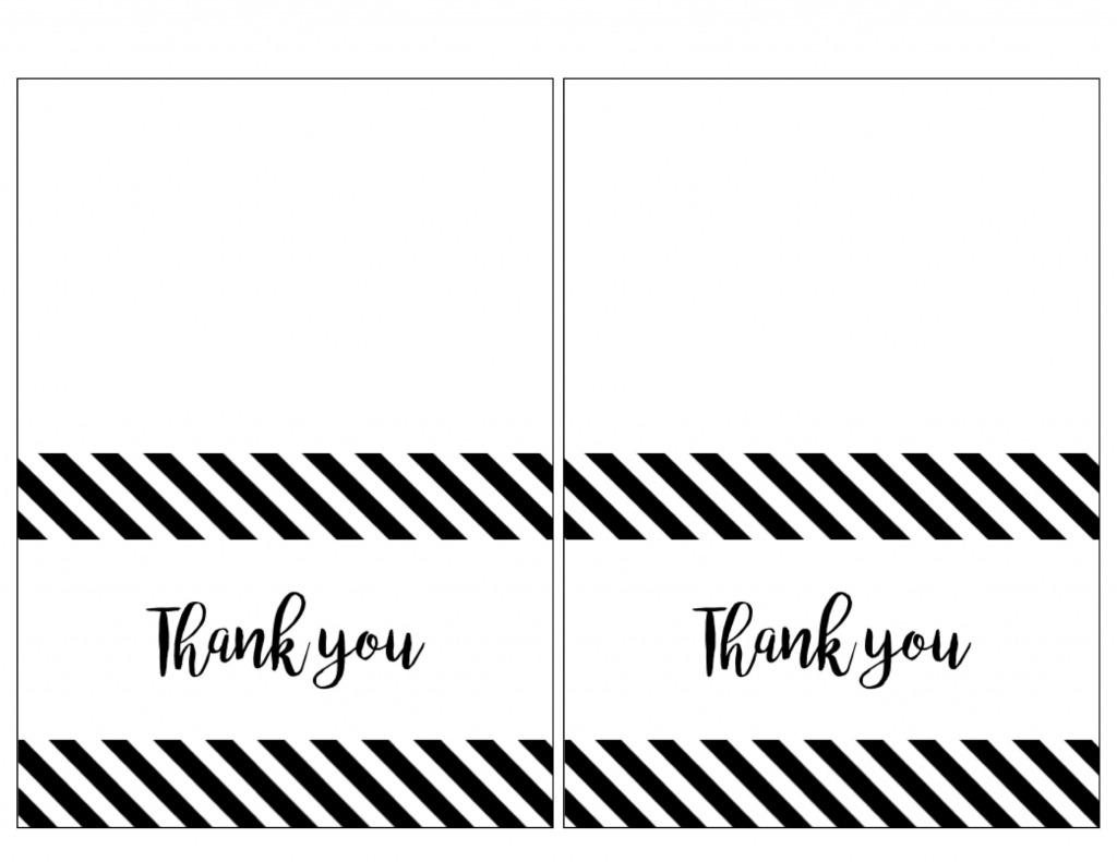 Thank You Cards To Print - Kleo.bergdorfbib.co | Printable Thank You Cards