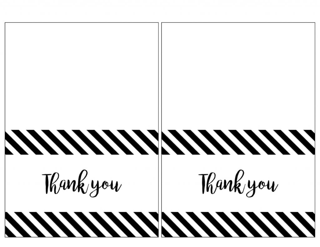Thank You Cards To Print - Kleo.bergdorfbib.co | Printable Thank You Cards