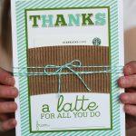 "Thanks A ""latte""   Eighteen25 | Printable Starbucks Gift Card"
