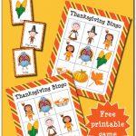 Thanksgiving Bingo {Free Printable}   Gift Of Curiosity | Turkey Bingo Cards Printable