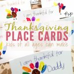 Thanksgiving Place Cards That Kids Can Make   Free Printable | Diy | Printable Thanksgiving Place Cards For Kids