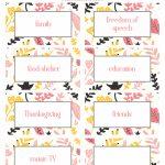 Thanksgiving Thankfulness With Free Printable Cards | Free Printable Thanksgiving Cards