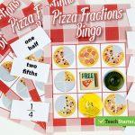 The 10 Best Primary School Classroom Bingo Games!   Fraction Bingo | Fraction Bingo Cards Printable Free