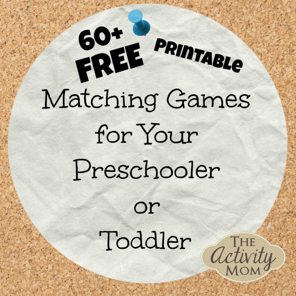 The Activity Mom - Free Printable Matching Games   Free Printable Matching Cards