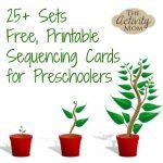 The Activity Mom   Sequencing Cards Printable   The Activity Mom | Free Printable Sequencing Cards For Preschool