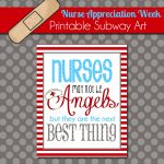 The Polka Dot Posie: Brighten A Nurse's Day With This Free Printable | Nurses Week 2016 Cards Free Printable