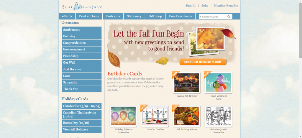 The Top 7 Sites For Free Ecards | Blue Mountain Cards Free Printable