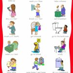 The Ultimate List Of Printable Visual Schedules.   Free Printable | Free Printable Kindergarten Task Cards