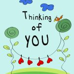 Thinking Of You   Love Card (Free) | Greetings Island | Printable Thinking Of You Cards