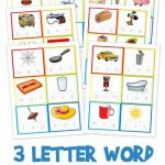 Three Letter Word Cards ~ Free Printable | Kindergarten Stuff | 3 | Cvc Picture Cards Printable