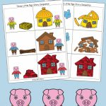Three Little Pigs Sequencing Cards   Fun With Mama | Free Printable Sequencing Cards