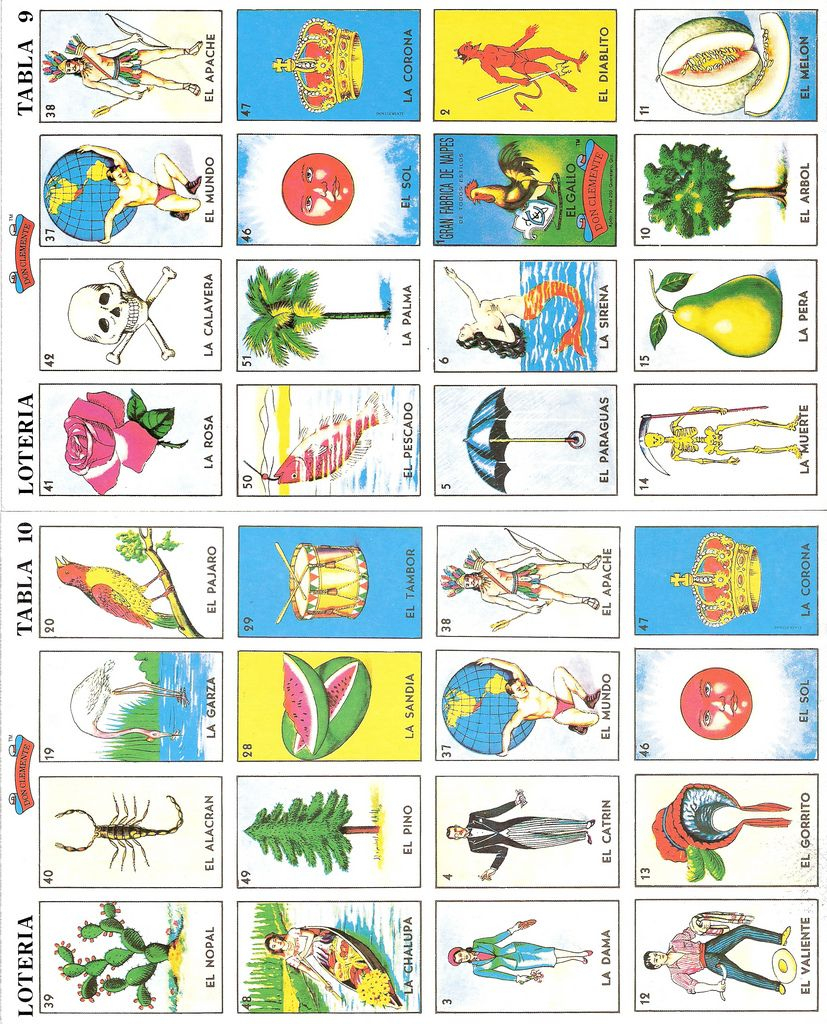Thrifted Loteria Cards In 2019 | Kiddos | Loteria Cards, Bingo Cards | Free Printable Loteria Cards