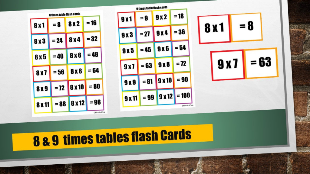 Times Table Snap Cards Printable/ 6 And 7 Times Tables/ | Etsy | 7 Times Table Flash Cards Printable