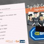 Top 10 Gift Cards For High School Graduates | Gcg | Online Gas Gift Cards Printable