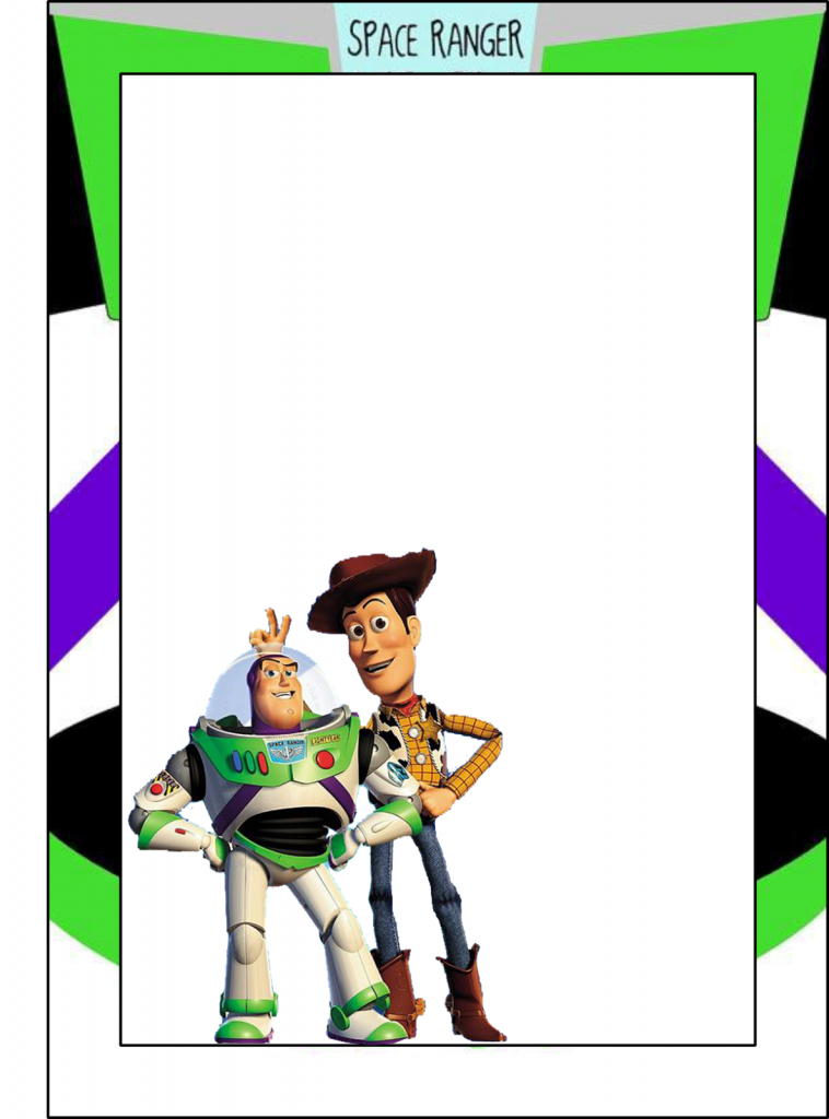 Toy Story: Free Printable Frames, Invitations Or Cards. | Dylans 2Nd | Toy Story Birthday Card Printable Free
