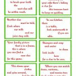 Treasure Hunt Clue Cards   Page 1 | Elfoutfitters #elfoutfitters | Treasure Hunt Printable Clue Cards