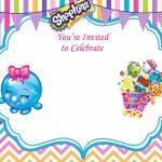 Updated   Free Printable Shopkins Birthday Invitation | Event | Printable Shopkins Birthday Card