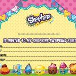 Updated   Free Printable Shopkins Birthday Invitation | Free | Printable Shopkins Birthday Card