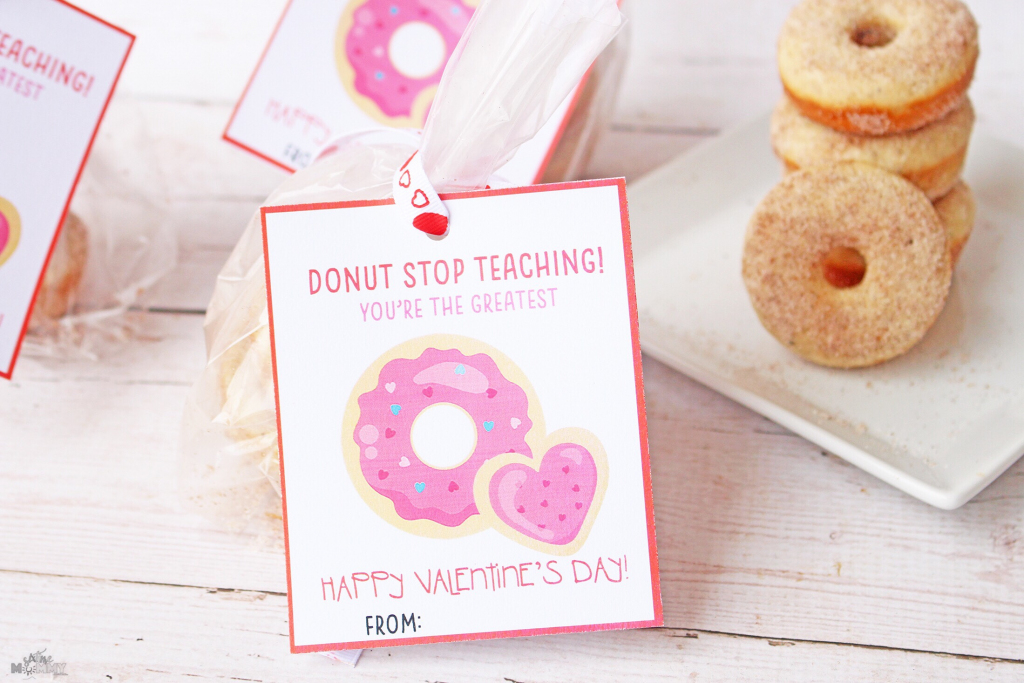 Valentine's Cards + Treats For Teachers With Free Printable! - Six | Printable Valentine Cards For Teachers