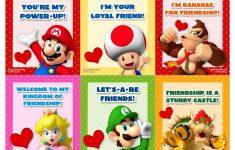 Printable Mario Valentines Cards
