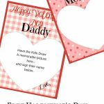 Valentine's Day Memory Keepsake Printable Cards For Parents | Free Printable Valentines Day Cards For Parents