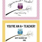 Valentine's Day Printables: Love Notes For Kids And Teenagers | Val | Happy Valentines Day Cards Printable