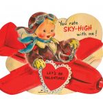 Valentine's Day Vintage Card: 4 Steps | Printable Vintage Valentines Day Cards