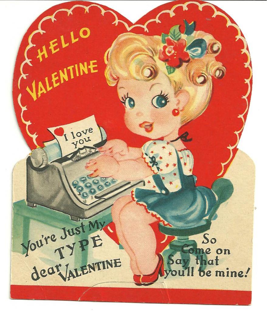 Vintage Valentine Cards | Printable Old Fashioned Valentine Cards