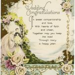 Vintage Wedding Congratulations   Old Design Shop Blog | Wedding Wish Cards Printable Free