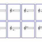 Violin Flash Cards – First Finger Notes | Denley Music | Piano Music Notes Flash Cards Printable