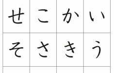 Volume 1 Kana Flashcards | Adventures In Japanese | Hiragana Flash Cards Printable