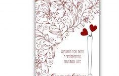 Wedding Wish Cards Printable Free