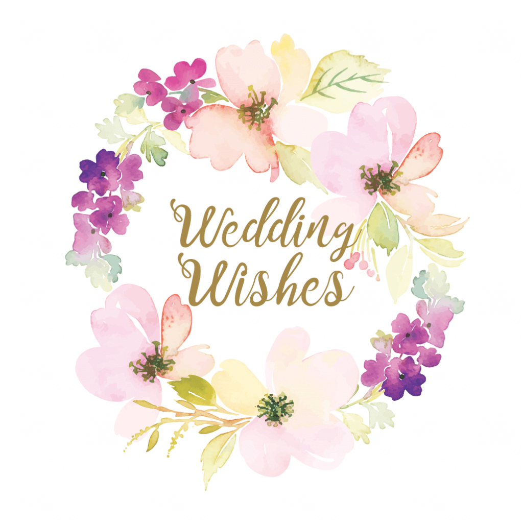 Wedding Wishes - Free Wedding Congratulations Card | Greetings Island | Wedding Wish Cards Printable Free
