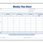 Weekly Employee Time Sheet | Good To Know | Timesheet Template | Employee Time Card Template Printable