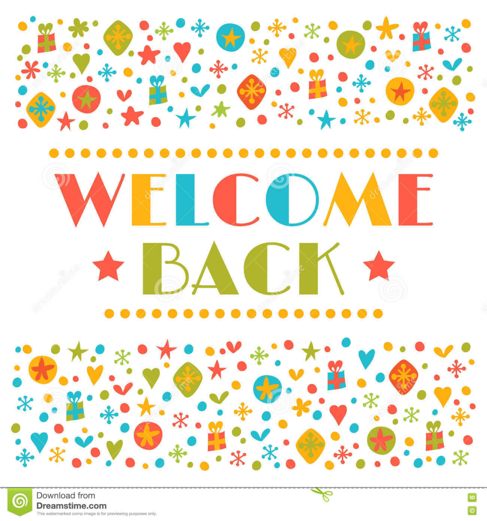 Welcome Back Printable Card - Under.bergdorfbib.co | Welcome Back Card Printable