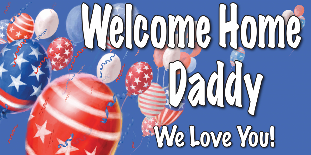 Welcome Home Cards Free Printable | Welcome Home Banners Style #5 | Welcome Home Cards Free Printable