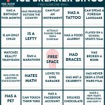 Welcome! | Red Door Blog | Printable Icebreaker Bingo Cards