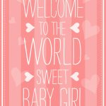 Welcome To The World   Baby Shower & New Baby Card | Greetings Island | Baby Greeting Cards Printable