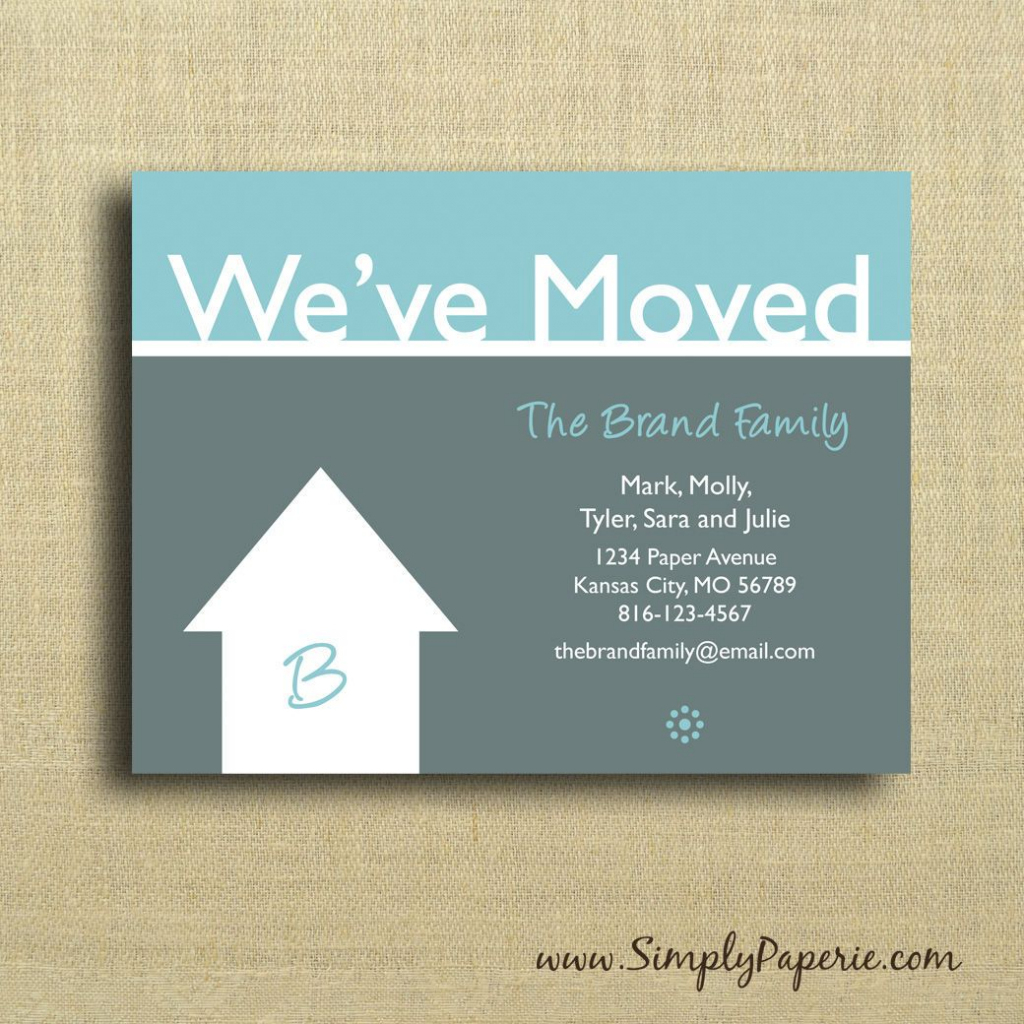 We're Moving Cards Free Printable - Google Search | We've Moved | We Are Moving Cards Free Printable