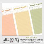 Woodstock | Prayer Request Cards Printable | Printable Prayer Request Cards