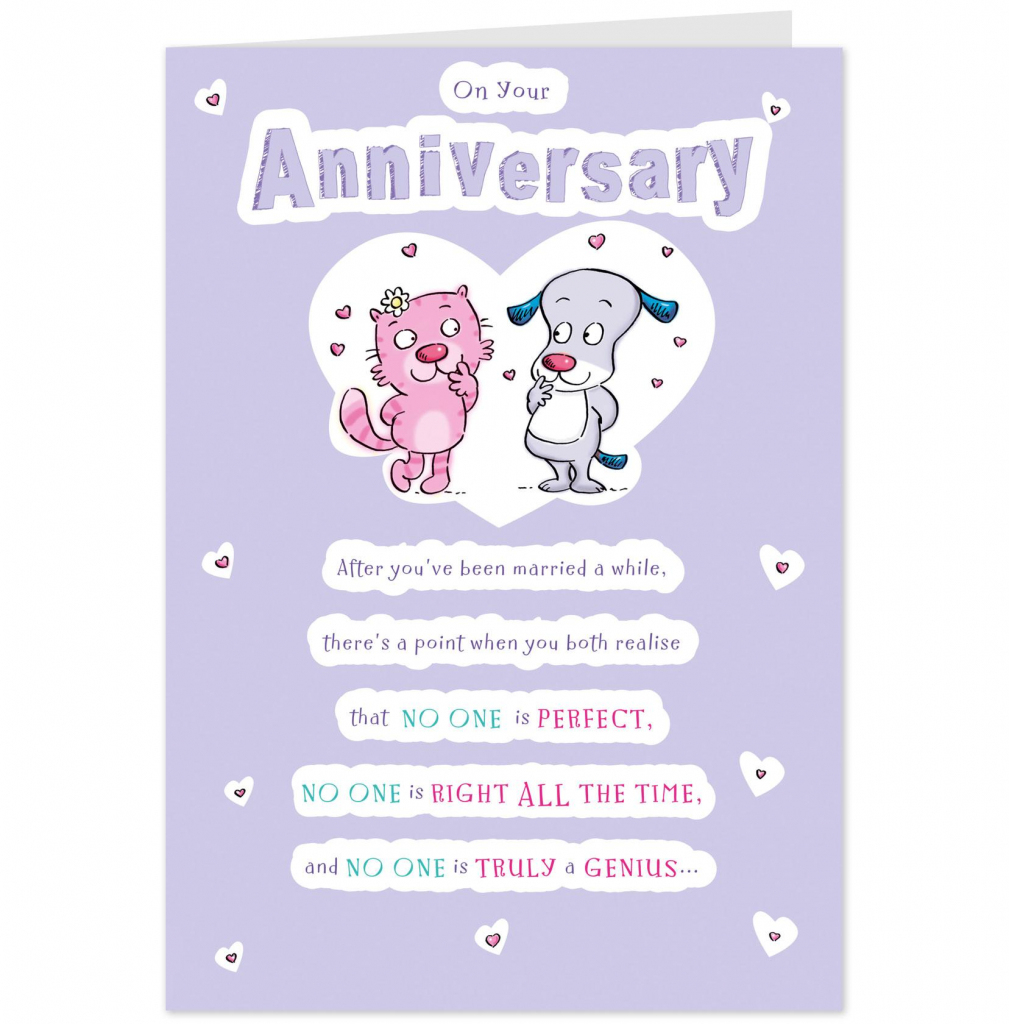 Words For Anniversary Card - Canas.bergdorfbib.co | 60Th Anniversary Cards Printable