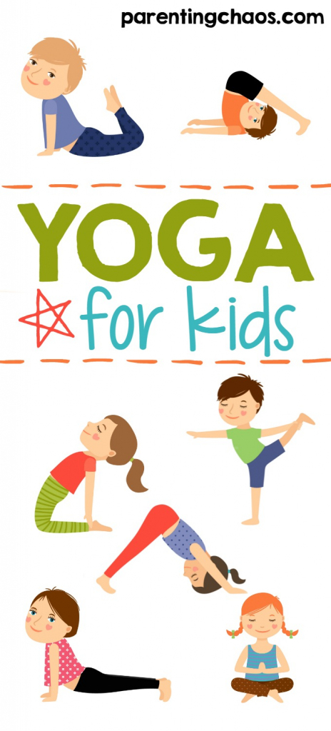 Yoga For Kids + Free Printable ⋆ Parenting Chaos | Abc Yoga Cards Printable